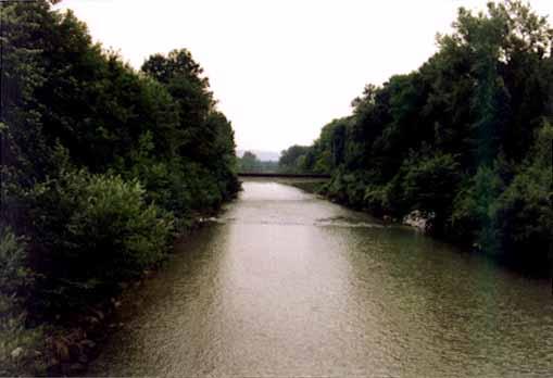 Aefligen Emme river